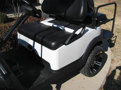 1 - 2019 Club Car Precedent REMAN Lifted 4P - White